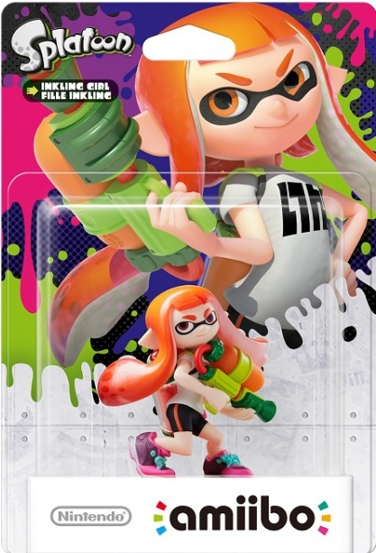 Figurka Amiibo Splatoon Girl (WiiU, 3DS, 2DS)